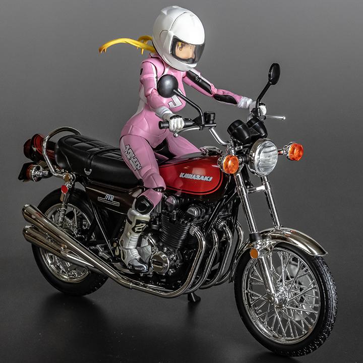 鈴乃木凜& Kawasaki 750-RS(Z2) カワサキ ゼッツー