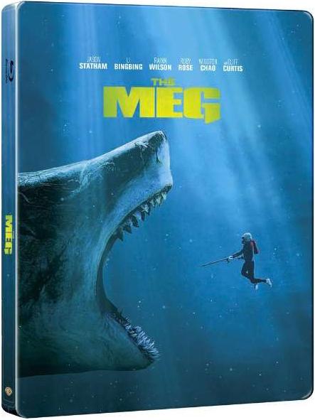 MEG ザ・モンスター ビックカメラ限定 The Meg steelbook スチールブック
