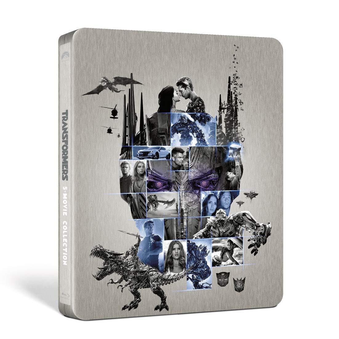 トランスフォーマー 5ムービー・コレクション スチールブック TRANSFORMERS steelbook Amazon Japan JP