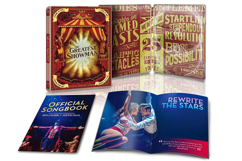 グレイテスト・ショーマン リミテッド・エディション スチールブック仕様 The Greatest Showman steelbook