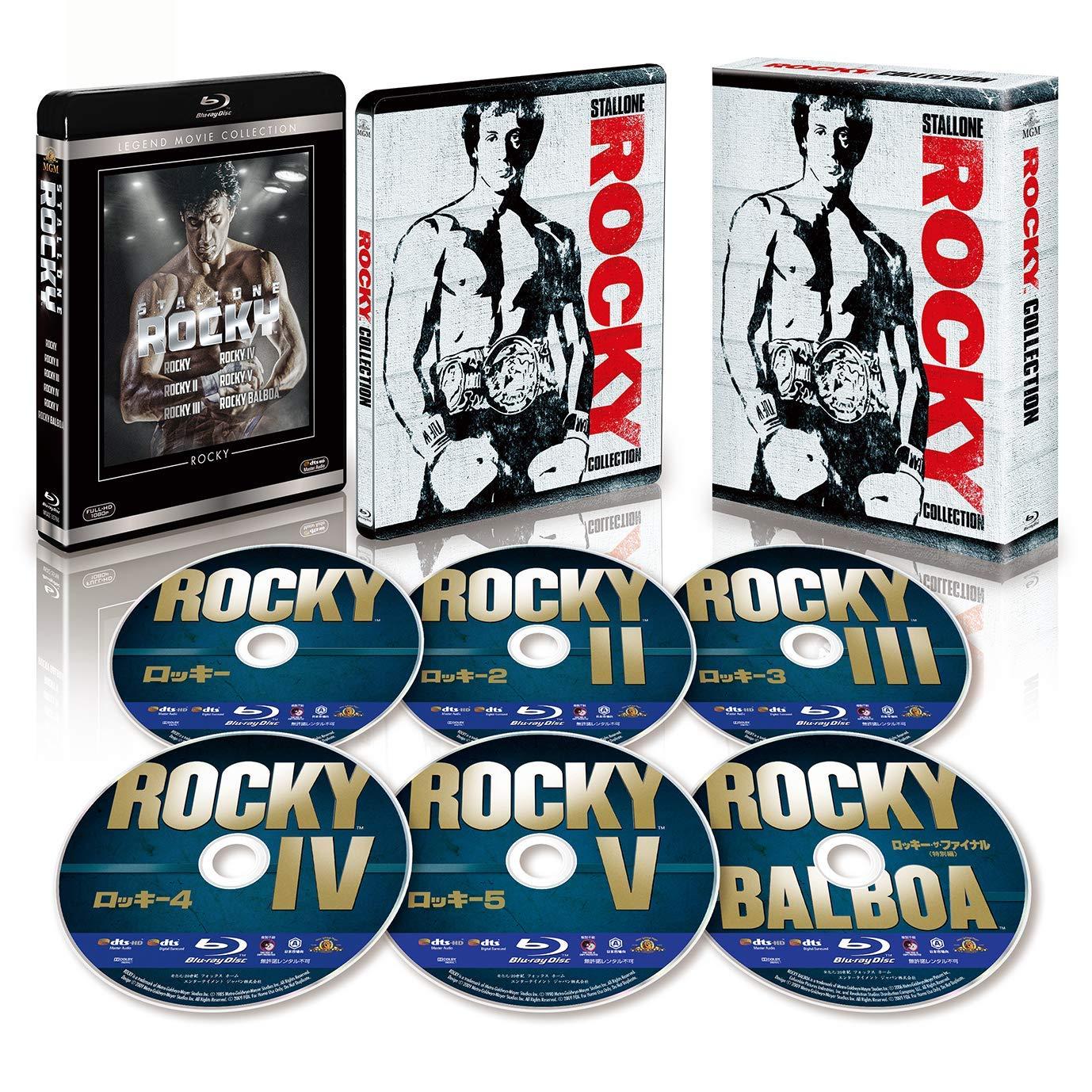 ロッキー コレクション スチールブック付きブルーレイBOX The Greatest Showman steelbook