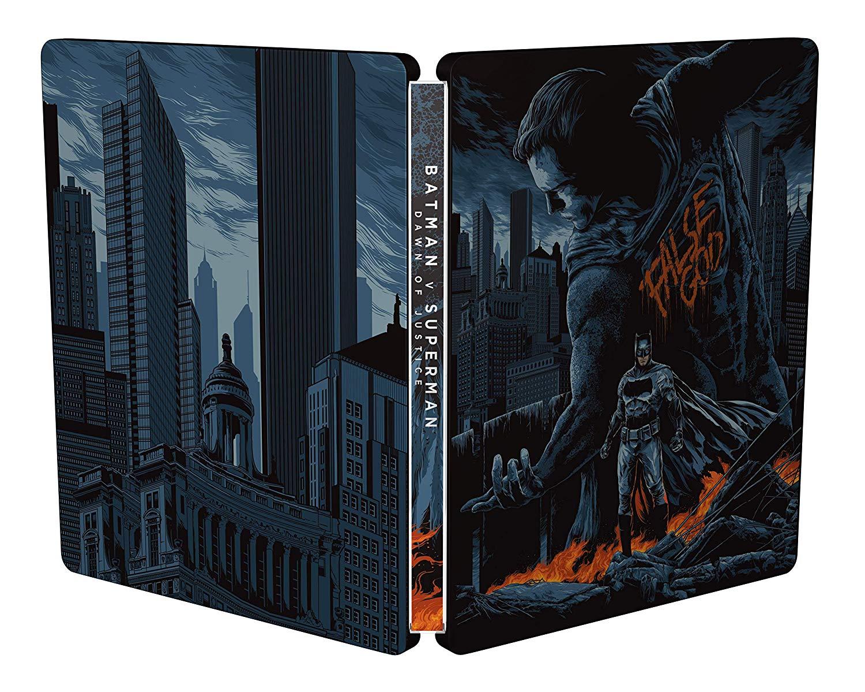 バットマン vs スーパーマン ジャスティスの誕生 イタリア盤 MONDO x STEELBOOK スチールブック