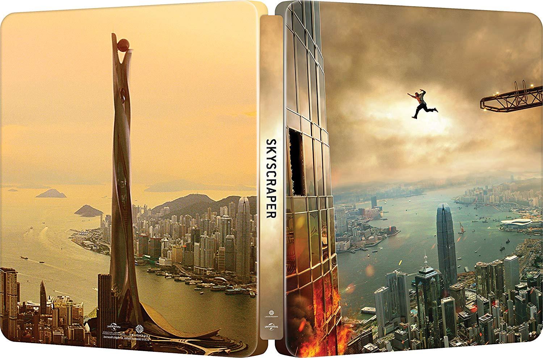 スカイスクレイパー スチールブック Skyscraper steelbook Amazon Japan JP