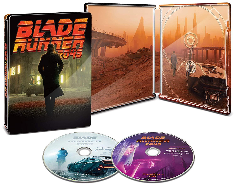 ブレードランナー 2049 スチールブック BLADE RUNNER 2049 steelbook