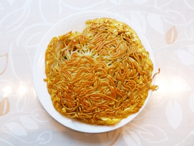 梅蘭_池袋_焼きそば_広東料理01