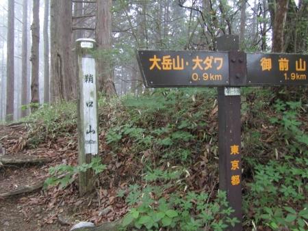 190622御前山~御岳 (5)鞘口山s