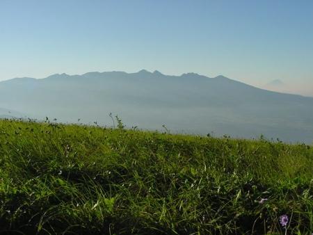 020807霧ヶ峰から八ヶ岳