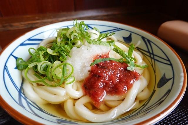 20190503 丸亀製麺 (1)冷し梅おろしうどん