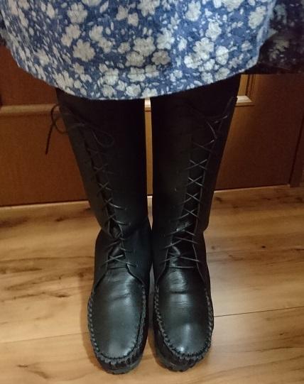 30cm編上げブーツ