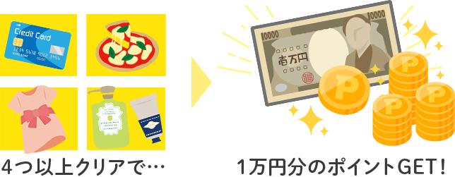 10,000円あげちゃう