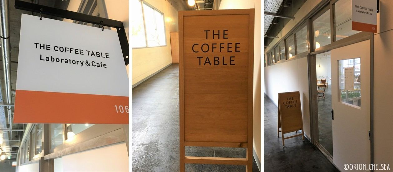 THE COFFEE TABLE Laboratory & Cafe♪