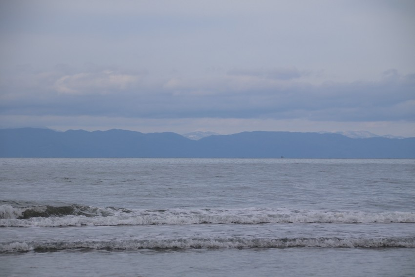 日本海と佐渡