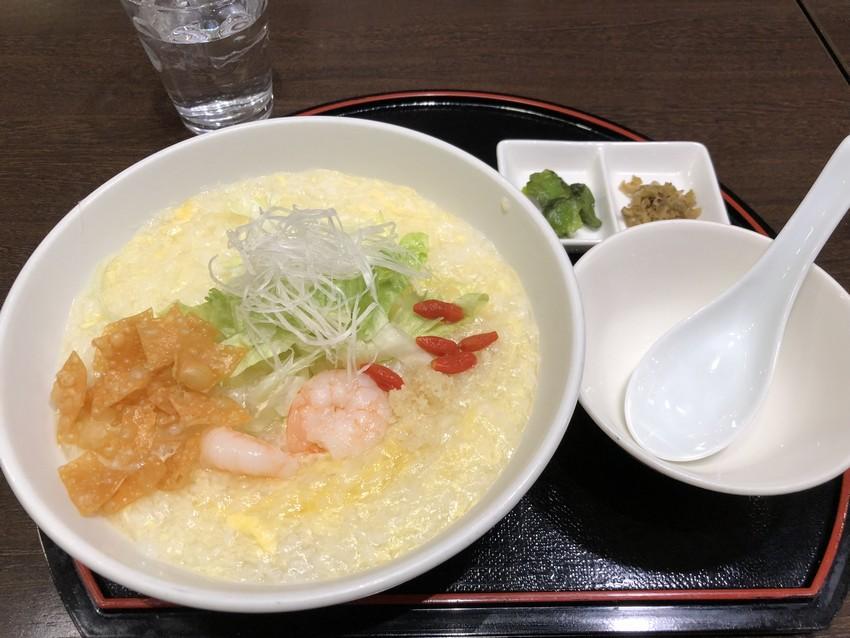 カントニーズレストラン龍鳳の中華粥