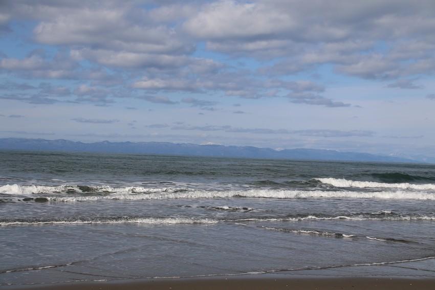 砂浜へ遊びに行きました