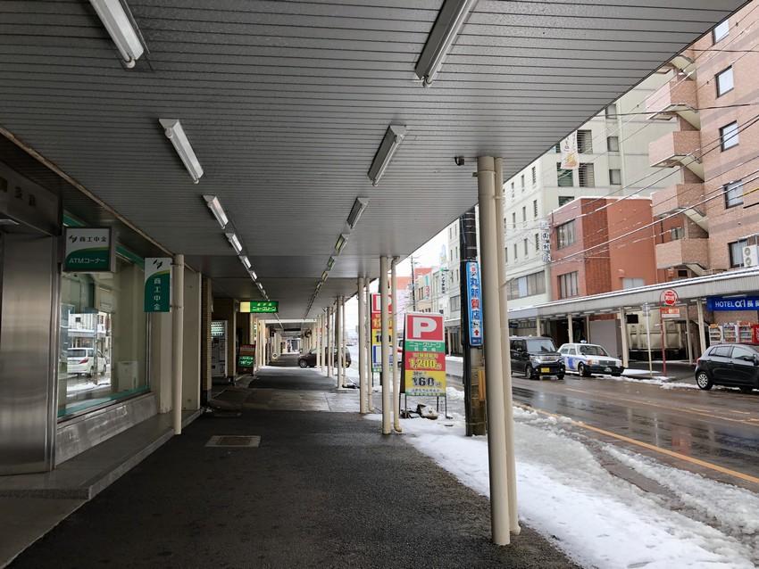 長岡駅前アーケード