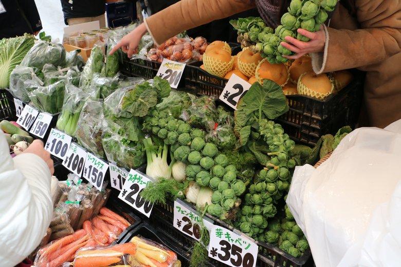 新潟の若手農家さんによる旬野菜販売