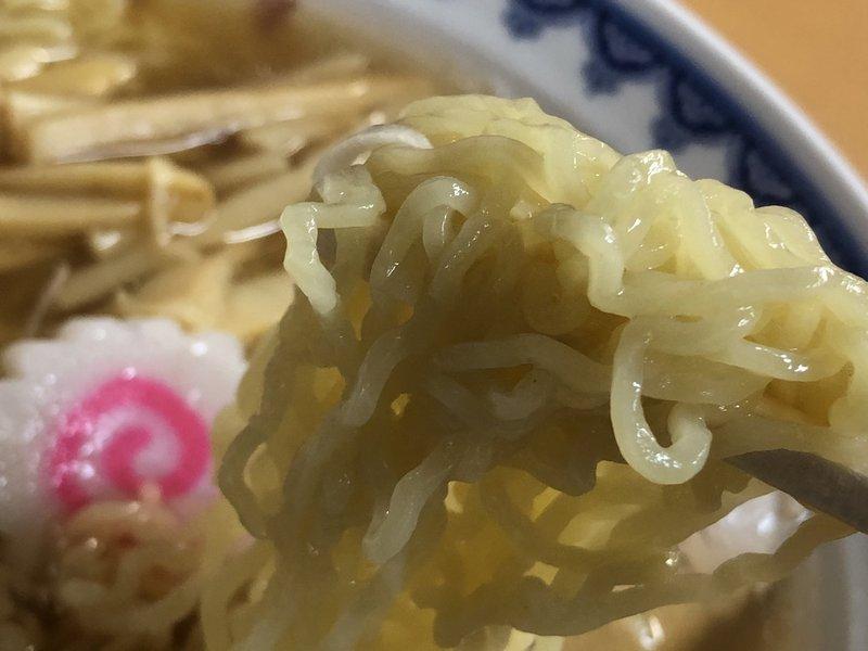 三吉屋の極細麺