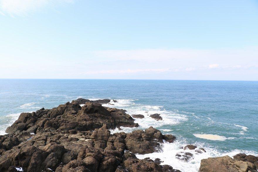 荒埼灯台からの眺め