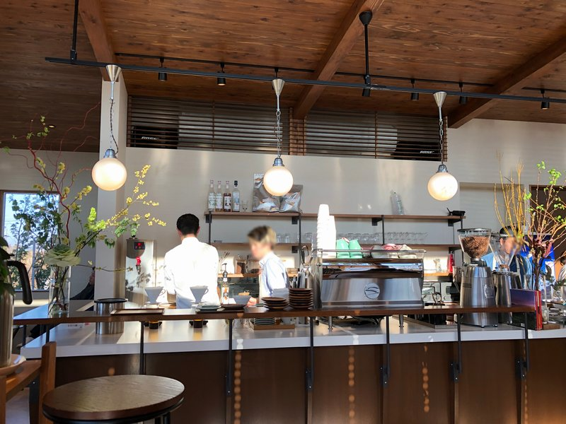 Taibow coffee店内