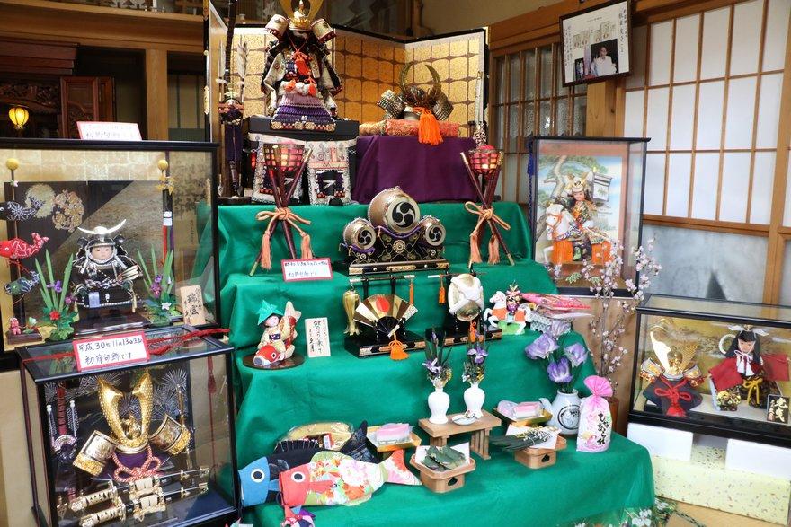 藤井折箱屋の人形