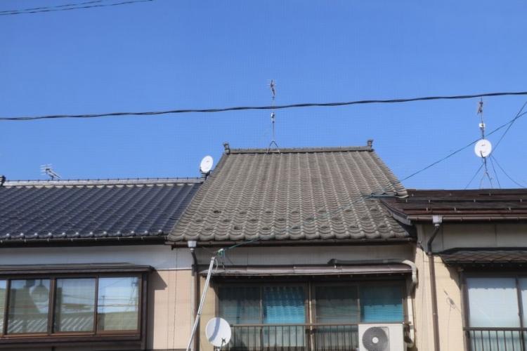 町屋の屋根事情