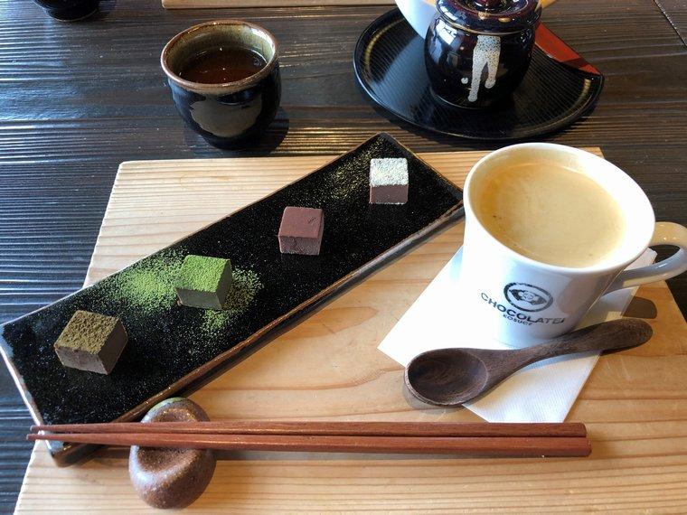 CHOCOLATEI瓢湖店の生チョコセット