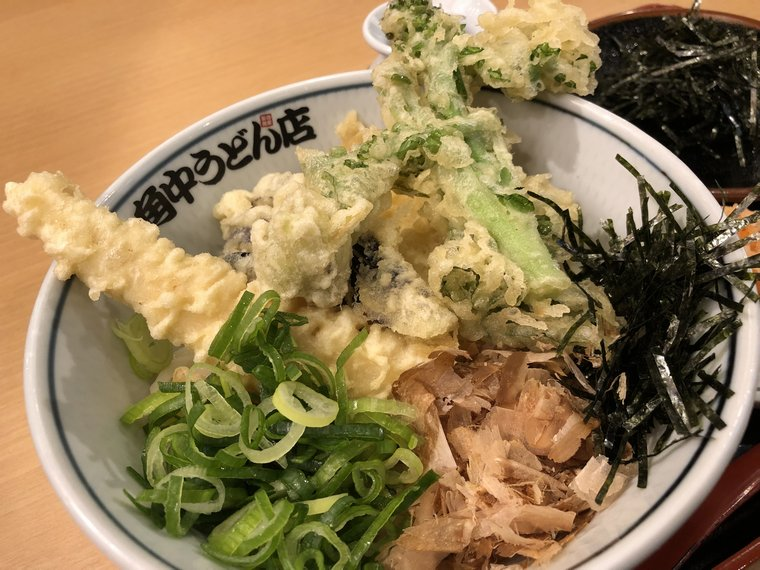 ふきのとう天ぷらが無いじゃないかぁ!