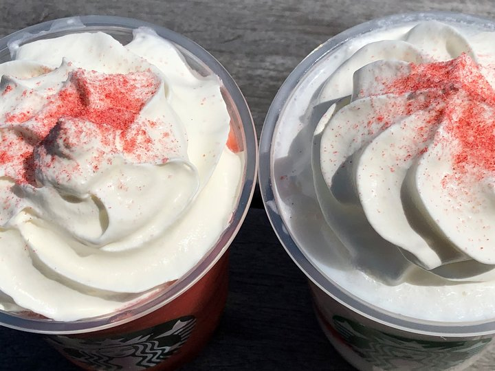 #STRAWBERRYVERYMUCHFRAPPUCCINO®