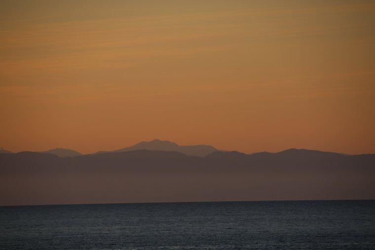 Dawn太が入水した海