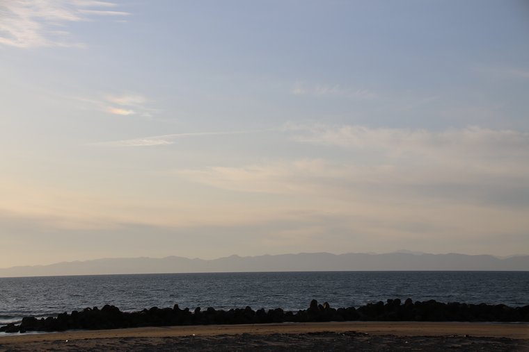 午後5時半の海