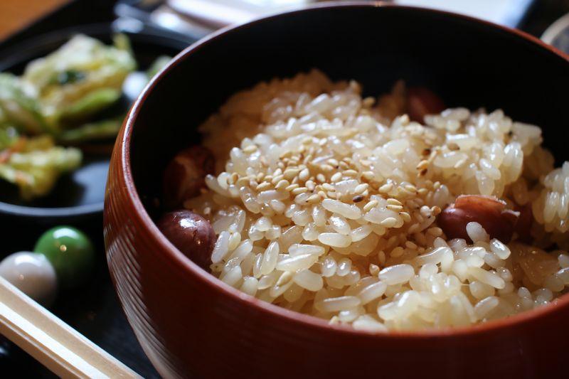 江口だんごの醤油赤飯