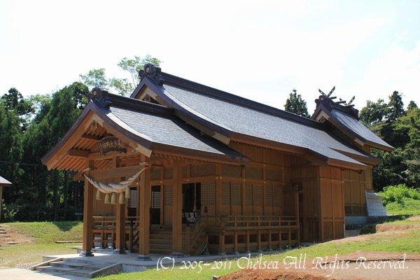 片葉の葦@居多神社