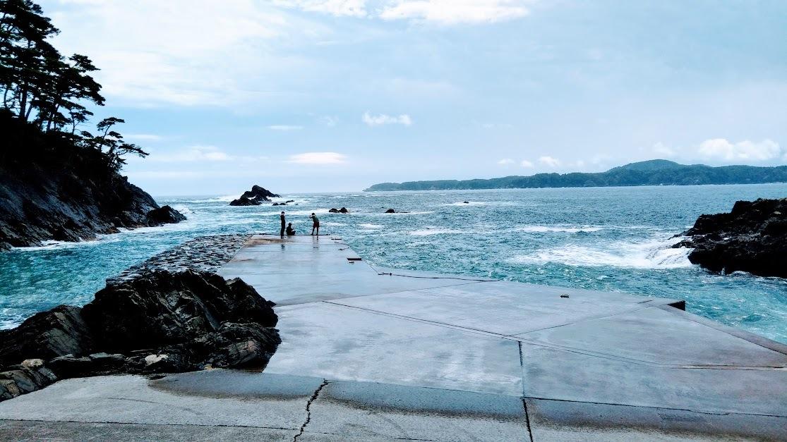 碁石海岸船着き場