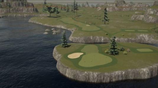 The Golf Club 2019 コース作成 マスターリンクスアイランド (2)
