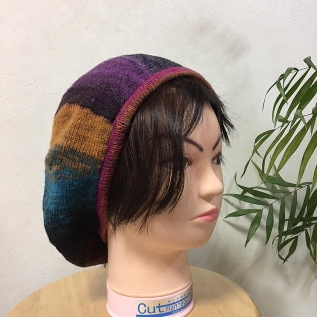 ベレー 紫2