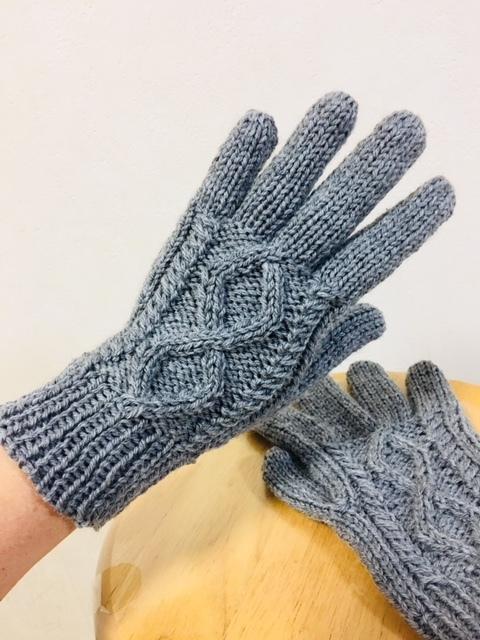 5本指手袋
