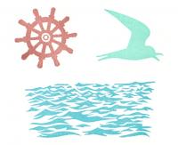 海のセット押印見本