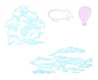 空のセット押印見本