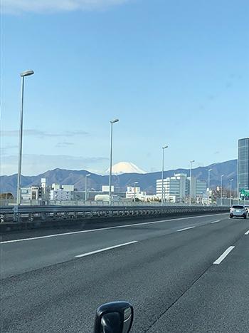 富士山近づいた