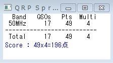 19_QRP Sprintコンテスト