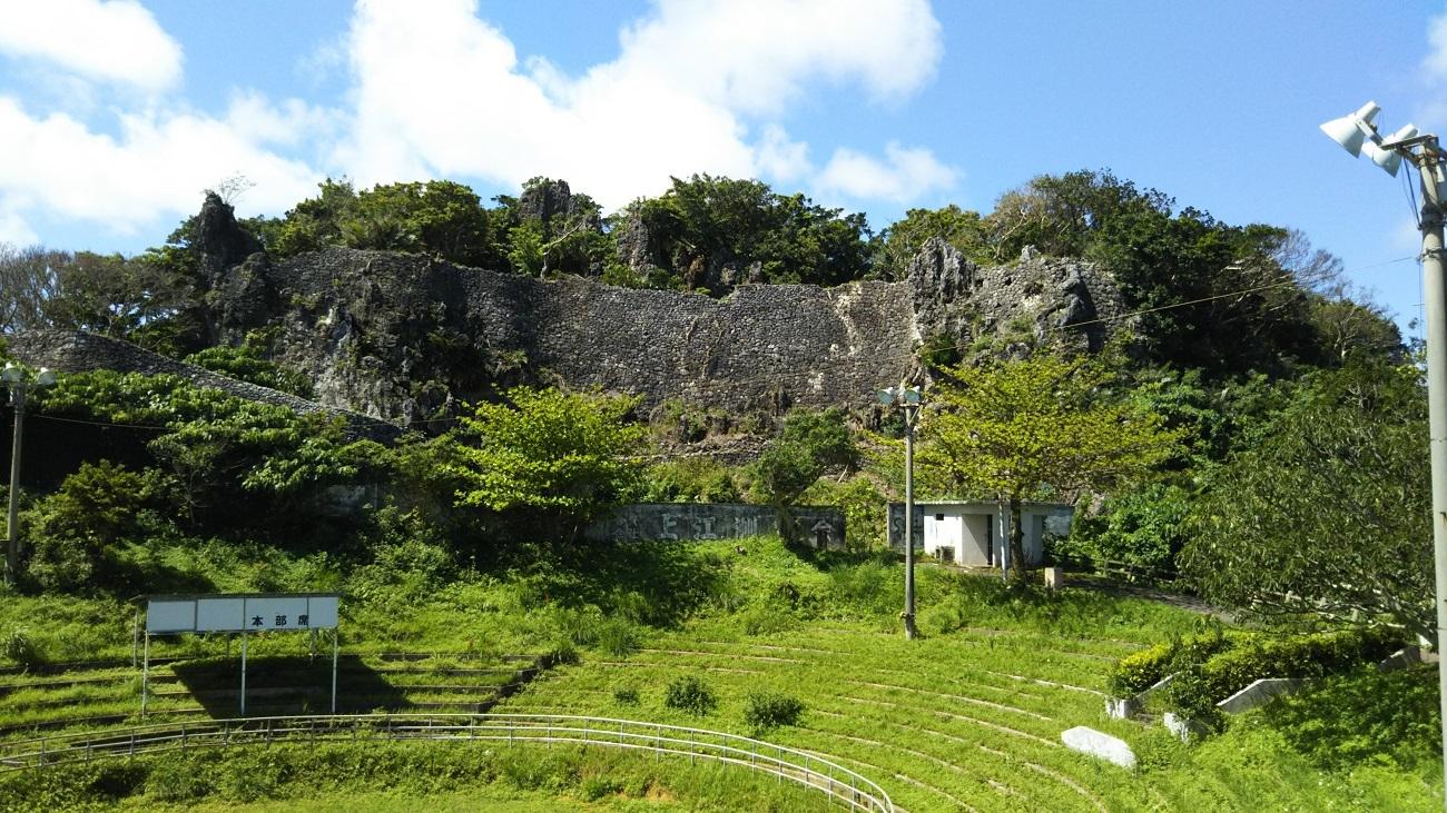 安慶名城跡