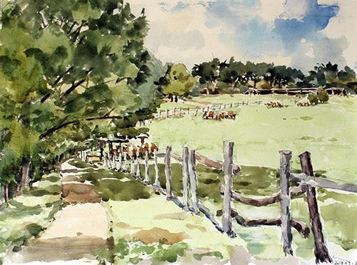 南ヶ丘牧場9月