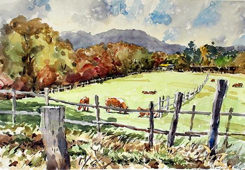 南ヶ丘牧場11月