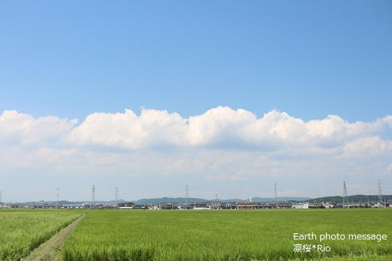 Earth photo message34 夏