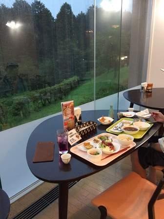 休暇村富士夕食31