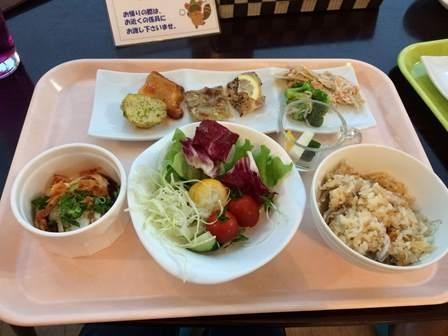 休暇村富士夕食37