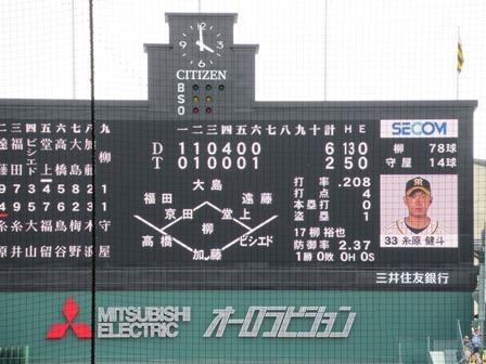 2019阪神中日69