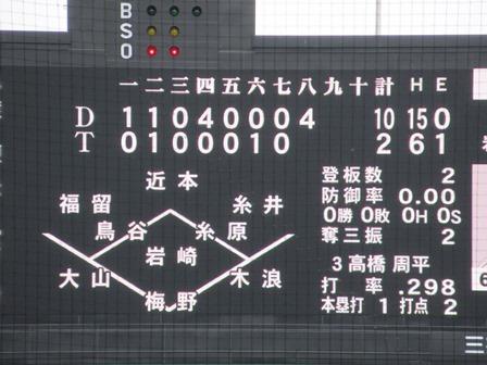 2019阪神中日96