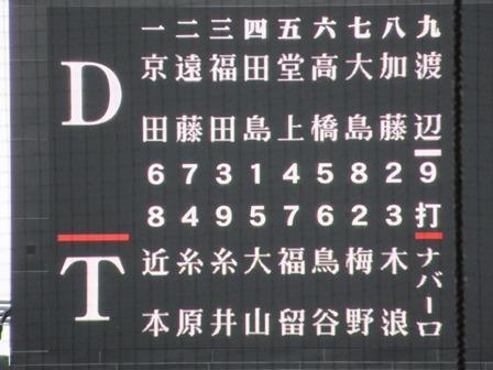 2019中日阪神6