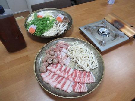 和み舎ひるがの夕食1